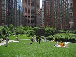 Green spaces improve phyical and mental health